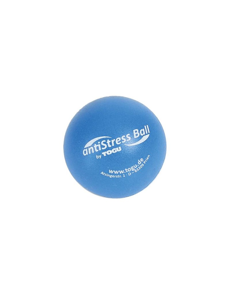 Togu Togu Anti-Stress Ball 6.5 cm blau