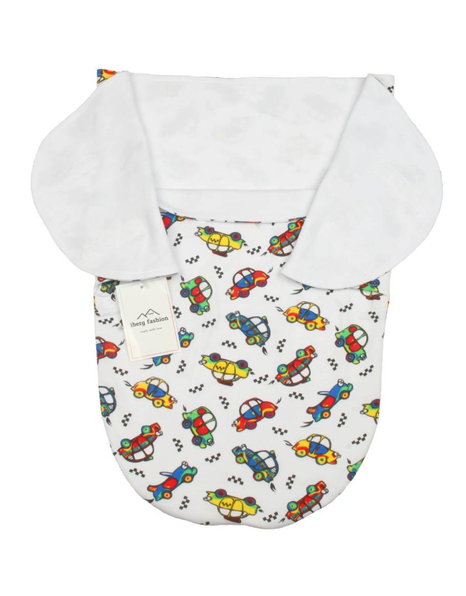 """Iberg Iberg Wickeltuch und Babypuk """"Cars"""""""