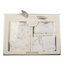 Baby Corner Baby Geschenkset Blümchen 0-3 Monate