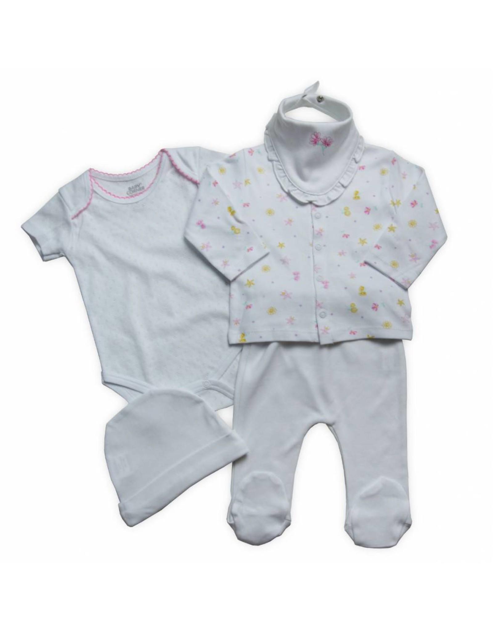 Baby Corner Baby Corner Baby Geschenkset Blümchen 0-3 Monate