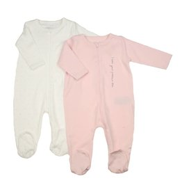 Name It Schlafstrampler Babygirl 2er Set Gr. 68 cm
