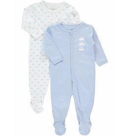 Name It Schlafstrampler Babyboy 2er Set Gr. 62 cm