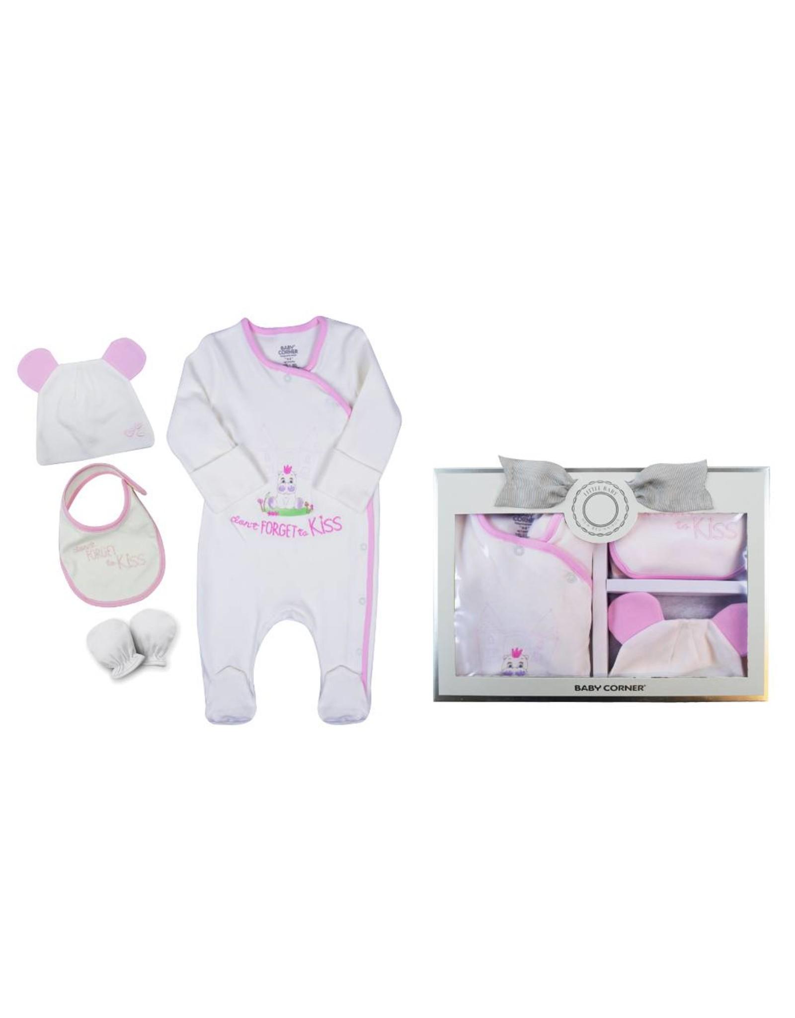 Baby Corner Baby Corner Baby Geschenkset Hippo 0-3 Monate