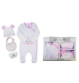 Baby Corner Baby Geschenkset Hippo 0-3 Monate