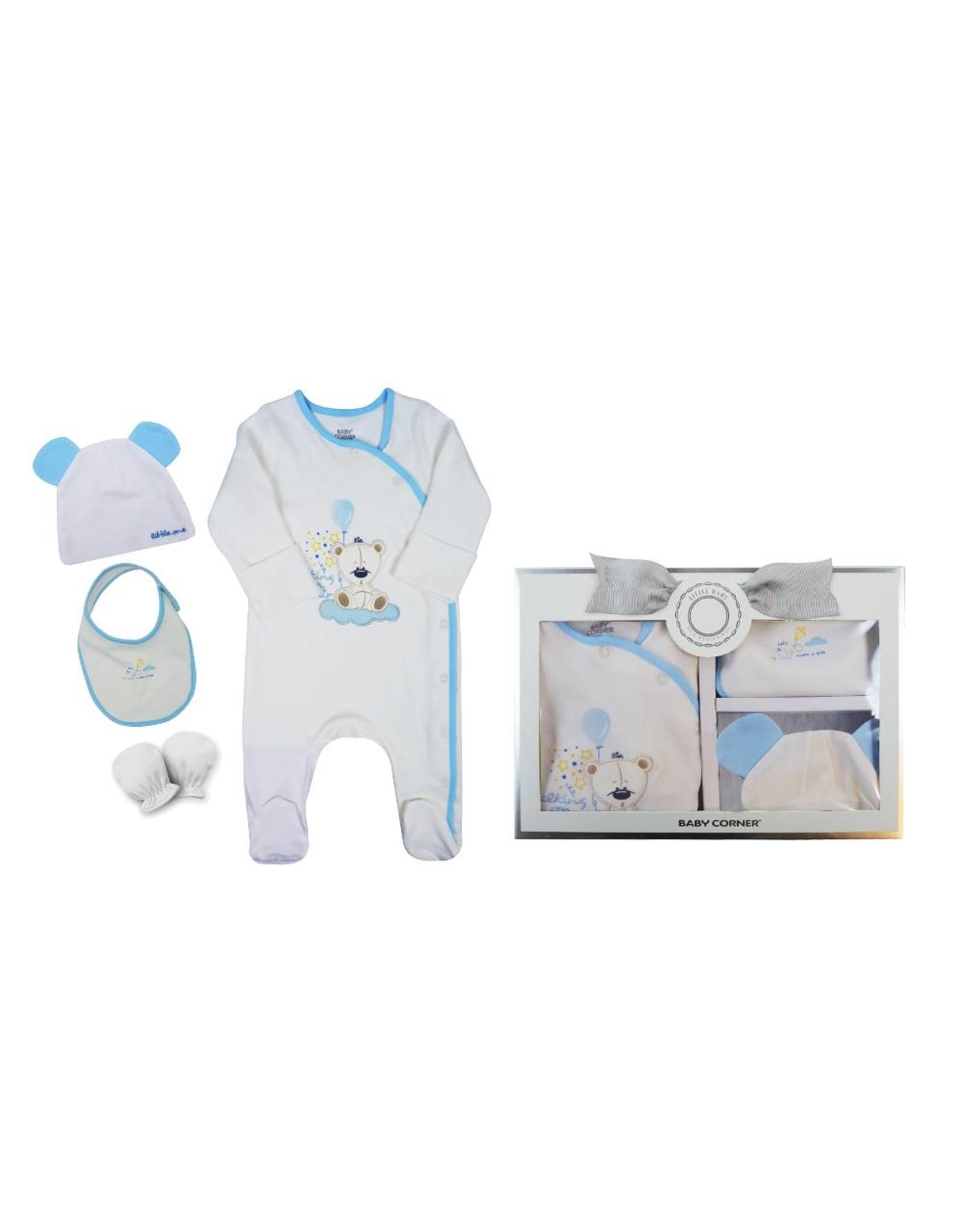 Baby Corner Baby Corner Baby Geschenkset Teddybär 0-3 Monate