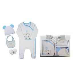 Baby Corner Baby Geschenkset Teddybär 0-3 Monate