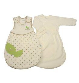 Lupussi Baby Doppel-Schlafsack Bio-Baumwolle