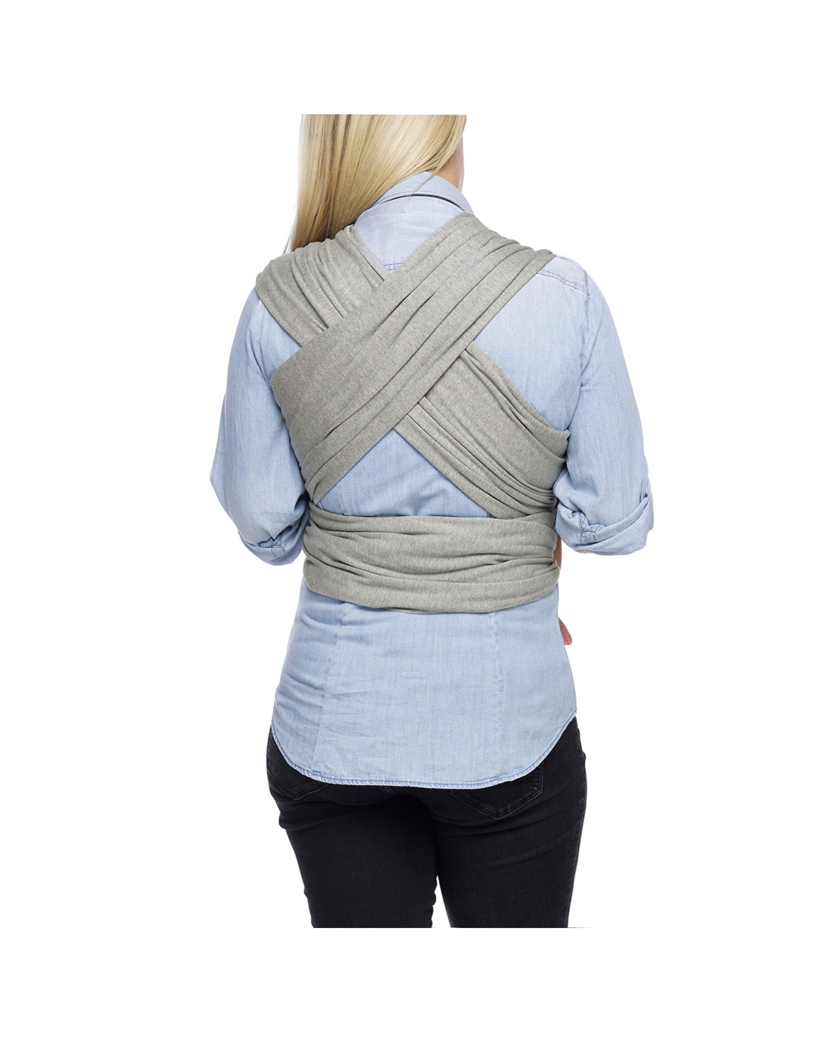 Moby Moby Wrap Tragetuch Classic Gray
