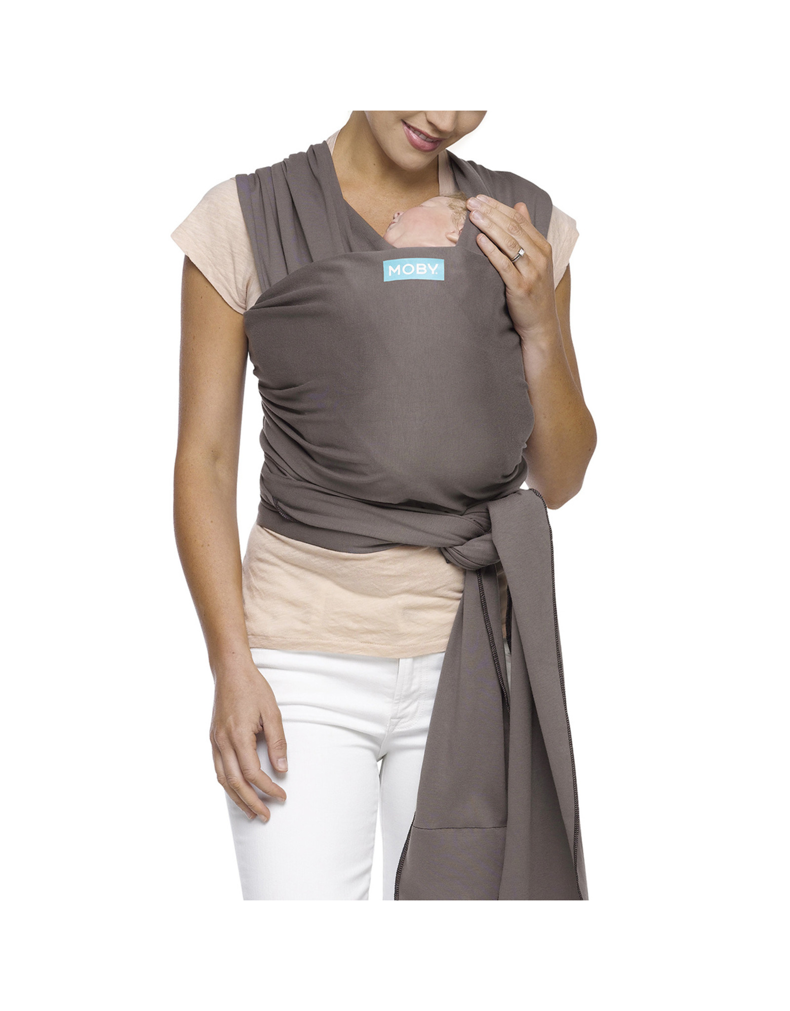 Moby Moby Wrap Tragetuch Classic Slate