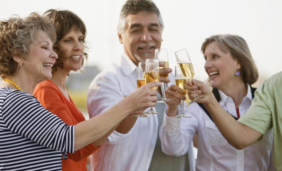 Belgen blijven verzot op Champagne