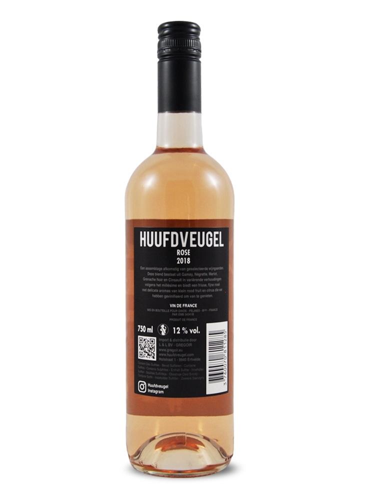 HUUFDVEUGEL rosé-3