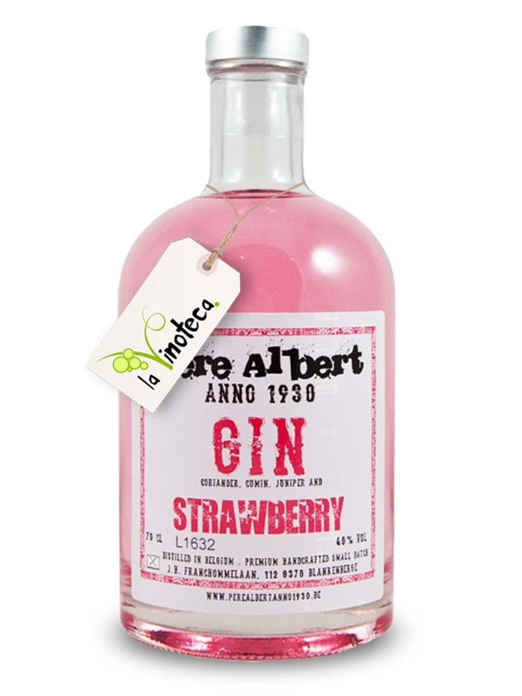 PERE ALBERT Gin - Strawberry-1