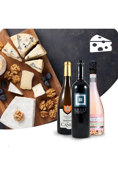 WIJNBOX- Kaas & wijn