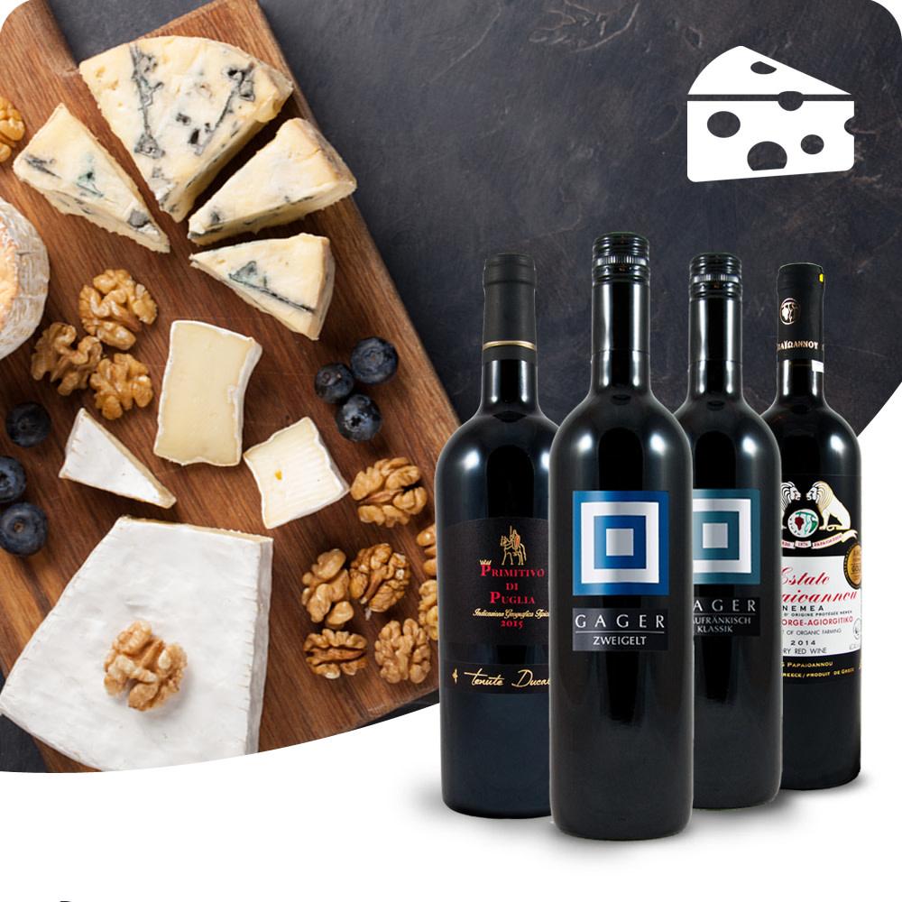 WIJNBOX - Kaas en rode wijnen-1