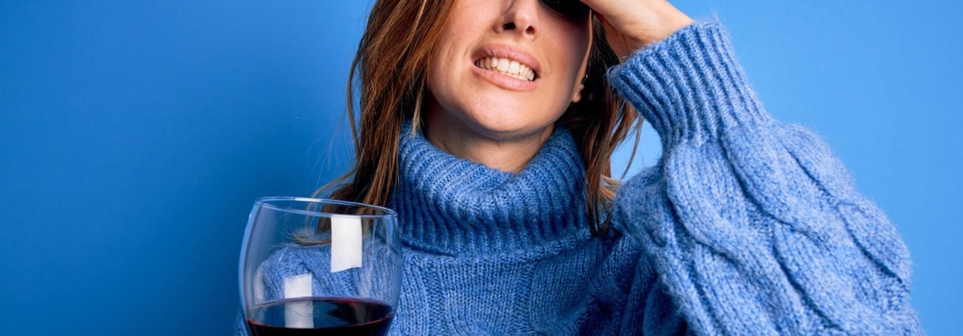 Hoofdpijn van wijn?