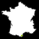 Vignerons Catalans map