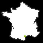 Les Montenay map