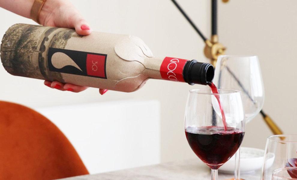 Kartonnen wijnflessen?