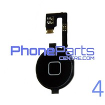 Full home button / flex cable for iPhone 4 (5 pcs)