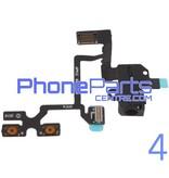 Volume knoppen met audio voor iPhone 4 (5 pcs)