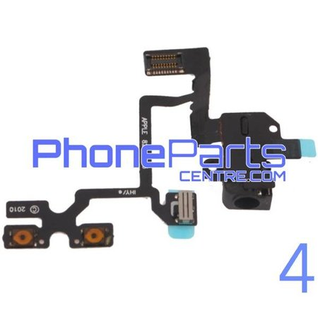 Volume buttons / headphone Jack for iPhone 4 (5 pcs)