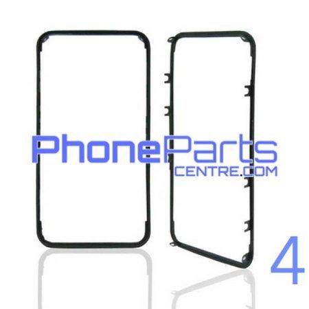 Frame met sticker t.b.v. LCD scherm voor iPhone 4 (10 pcs)