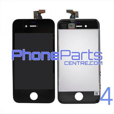 LCD scherm met touchscreen en frame premium kwaliteit voor iPhone 4