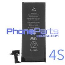 Batterij voor iPhone 4S (4 pcs)