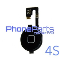 Full home button / flex cable for iPhone 4S (5 pcs)