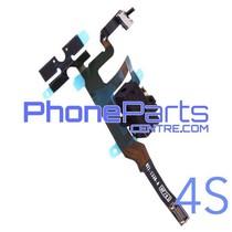 Volume knoppen met audio voor iPhone 4S (5 pcs)