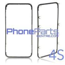 Frame met sticker t.b.v. LCD scherm voor iPhone 4S (10 pcs)