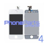 LCD screen/ digitizer/ frame premium quality for iPhone 4