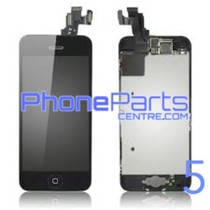LCD screen / digitizer - all parts assembled - for iPhone 5