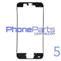 Frame met sticker t.b.v. LCD scherm voor iPhone 5 (10 pcs)