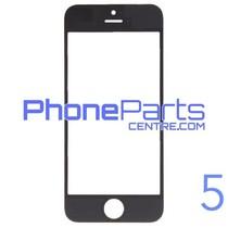 Glass lens / frame / OCA glue for iPhone 5 (10 pcs)