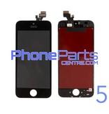 LCD scherm met touchscreen en frame premium kwaliteit voor iPhone 5