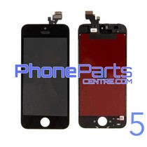 LCD screen/ digitizer/ frame premium quality for iPhone 5