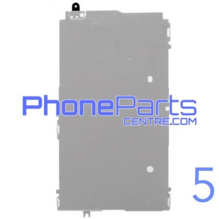 LCD Metal back plate for iPhone 5 (10 pcs)