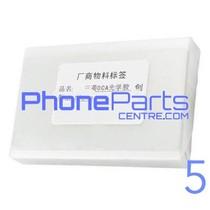OCA lijmlaag t.b.v. touchscreen voor iPhone 5 (50 pcs)