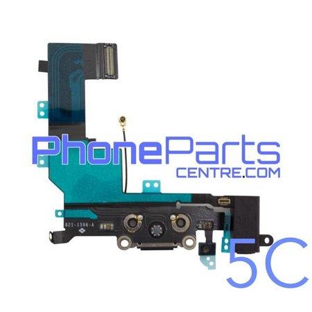Dock connector met audio & microfoon voor iPhone 5C (5 pcs)