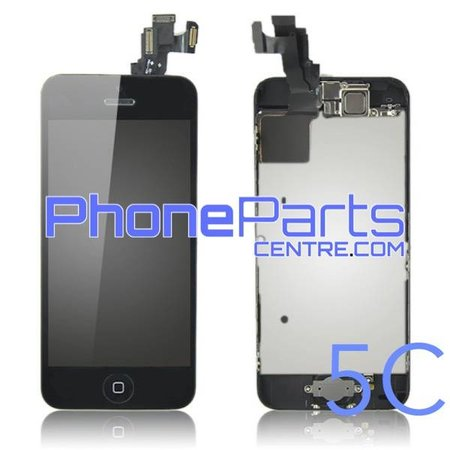 LCD screen / digitizer - all parts assembled - for iPhone 5C