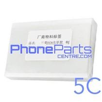 OCA lijmlaag t.b.v. touchscreen voor iPhone 5C (50 pcs)