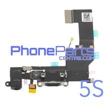 Dock connector met audio & microfoon voor iPhone 5S (5 pcs)