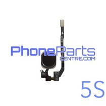Full home button / flex cable for iPhone 5S (5 pcs)