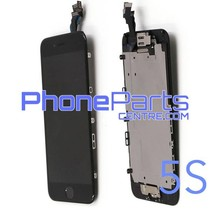 LCD screen / digitizer - all parts assembled - for iPhone 5S