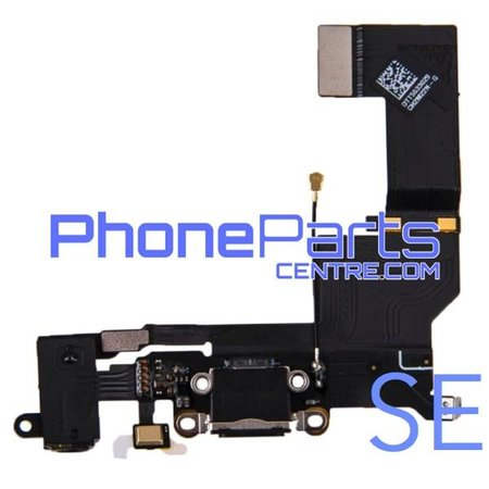 Dock connector met audio & microfoon voor iPhone SE (5 pcs)