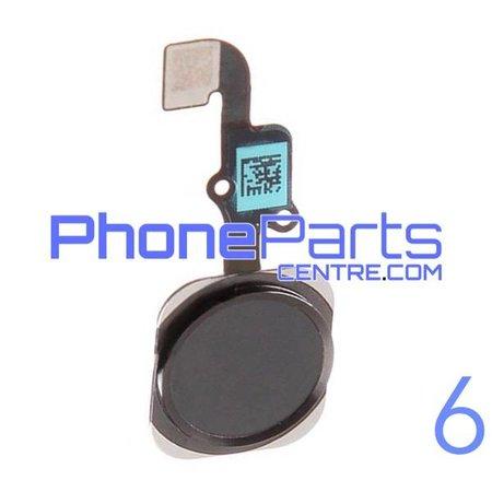 Volledige home button met kabel voor iPhone 6 (5 pcs)