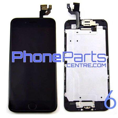 LCD scherm - alle onderdelen gemonteerd - voor iPhone 6