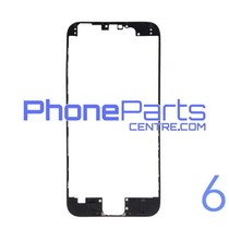 LCD frame with glue for iPhone 6 (10 pcs)