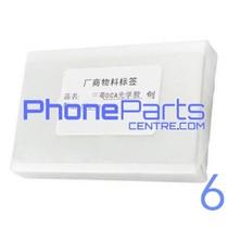 OCA lijmlaag t.b.v. touchscreen voor iPhone 6 (50 pcs)